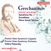 Grechaninov: Symphony No 1, etc / Polyansky, Russian SSO