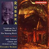 Rubbra: Symphony no 9, etc / Hickox, BBC NO of Wales