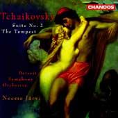 Tchaikovsky: Suite no 2, etc / Neeme Jarvi, Detroit SO