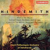 Hindemith: Mathis der Maler, etc / Belohlavek, Czech PO