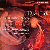Dvorak: Symphony no 5, etc / Jiri Belohl vek, Czech PO