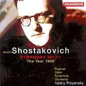 Shostakovich: Symphony no 11 / Polyansky, Russian State SO