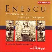 Enescu: Symphony no 1, etc / Rozhdestvensky, BBC Phil