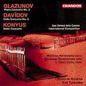 Glazunov, Davidov, Konyus: Concertos / Yuli Turovsky