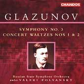 Glazunov: Symphony no 3, Concert Waltzes / Polyansky, et al