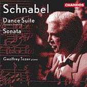 Schnabel: Dance Suite, Sonata / Geoffrey Tozer
