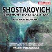 Shostakovich: Symphony no 13 / Polyansky, Martirosyan