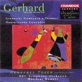 """Gerhard: Symphony """"Homenaje a Pedrell"""", etc / Bamert, Tozer"""