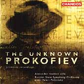The Unknown Prokofiev - Cello Concerto, etc / Ivashkin
