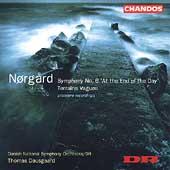 Norgard: Symphony no 6, Terrains Vagues / Dausgaard, Danish