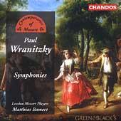 Wranitzky: Symphonies / Bamert, London Mozart Players