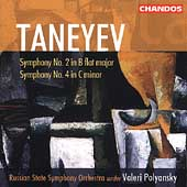 Taneyev: Symphonies no 2 & 4 / Polyansky, Russian State SO