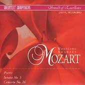 Greatest Composers - Mozart: Piano Sonata no 5, etc