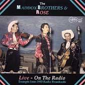 Live: on the Radio