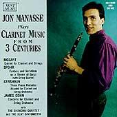 Jon Manasse Plays Clarinet Music from 3 Centuries / Shanghai