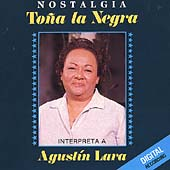 Tona la Negra Interpreta a Agustin Lara