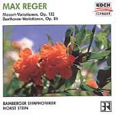 Reger: Mozart & Beethoven Variations / Stein, Bamberg SO