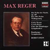 Reger: Die Weihe der Nacht, etc / Stein, Bamberg SO & Chorus