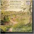 Debussy: Sonate pour violon;  Dutilleux, Chausson