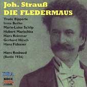 Strauss: Die Fledermaus / Rosbaud, Eipperle, Beilke, et al