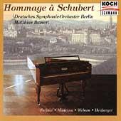 Hommage a Schubert / Matthias Bamert, Deutsches SO Berlin
