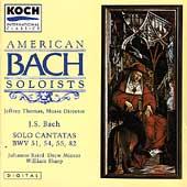 Bach: Solo Cantatas / Thomas, American Bach Soloists