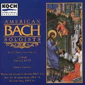 Bach: Cantatas Vol 6 / Thomas, American Bach Soloists