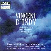 D'Indy: Symphony no 2, Souvenirs / DePreist, Monte Carlo PO