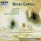 Cowell: Fiddler's Jig, etc / Clark, Manhattan CO