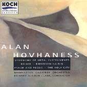 Hovhaness: Symphony of Metal Instruments, etc / Clark