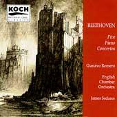 Beethoven: Five Piano Concertos / Romero, Sedares