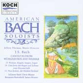 Bach: Cantatas Vol 5 / Thomas, American Bach Soloists