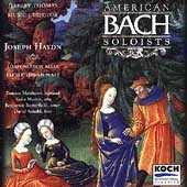 Haydn: Lord Nelson Mass, etc / American Bach Soloists
