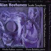 Hovhaness: Armenian Rhapsodies, etc / Schwarz, Hovahaness