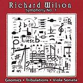 Wilson: Symphony no 1, Gnomics, etc / Sedares, Amory, et al