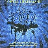 L.Liebermann: Quintet for Piano, Clarinet & String Trio Op.26, Quintet for Piano & Strings Op.34, 6 Songs on Poems by Raymond Carver Op.80 / Jon Manasse(cl), Patrick Mason(Br), David Korevaar(p)