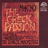 Martinu: The Greek Passion / Mackerras, Mitchinson, Field