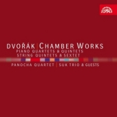 Dvorak: Chamber Works -String Quintets No.1-No.3, String Sextet Op.48, Piano Quartets No.1, No.2, Piano Quintets No.1, No.2, etc (1982-96) / Panocha Quartet, Suk Trio, etc