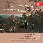 C.Stamitz: Clarinet Concerto (4/15-17/1987), Horn Concerto; A.Stamitz: Sinfonia Concertante (7/1/1991) / Bohuslav Zahradnik(cl), Zdenek Tylsar(hrn), Frantisek Vajnar(cond), Prague Chamber Orchestra, etc