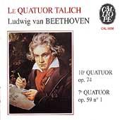 Beethoven: String Quartets no 7 & 10 / Talich Quartet
