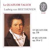 Beethoven: String Quartets no 8 & 13 / Talich Quartet