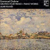 Chabrier: Piano Works / Alain Planes