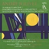Jolivet: Troisieme Symphonie, Concertos / Jolivet, et al