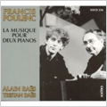 Poulenc:Works for 2 Pianos:Alain Raes(p)/Tristan Raes(p)