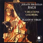 Bach: Goldberg Variations / Blandine Verlet
