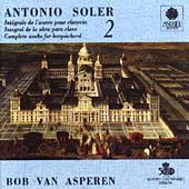 Soler: Harpsichord Works, Vol. 2