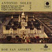 Soler: Harpsichord Works, Vol. 3