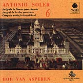 Soler: Harpsichord Works, Vol. 6