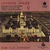 Soler: Harpsichord Works, Vol. 9