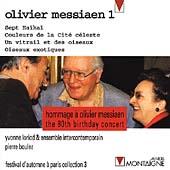 Hommage a Messiaen / Boulez, Loriod, Intercontemporian